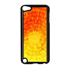 Abstract Explosion Blow Up Circle Apple Ipod Touch 5 Case (black) by Nexatart