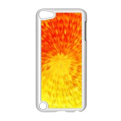 Abstract Explosion Blow Up Circle Apple Ipod Touch 5 Case (white) by Nexatart