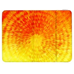Abstract Explosion Blow Up Circle Samsung Galaxy Tab 7  P1000 Flip Case by Nexatart