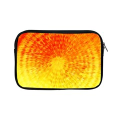 Abstract Explosion Blow Up Circle Apple Ipad Mini Zipper Cases by Nexatart