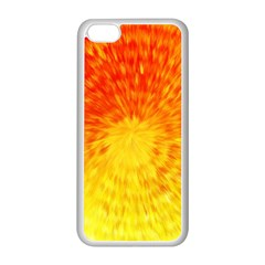Abstract Explosion Blow Up Circle Apple Iphone 5c Seamless Case (white)