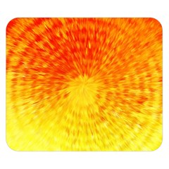 Abstract Explosion Blow Up Circle Double Sided Flano Blanket (small)  by Nexatart