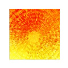 Abstract Explosion Blow Up Circle Small Satin Scarf (square) by Nexatart