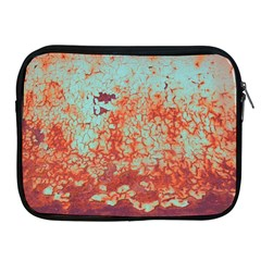 Orange Blue Rust Colorful Texture Apple Ipad 2/3/4 Zipper Cases by Nexatart