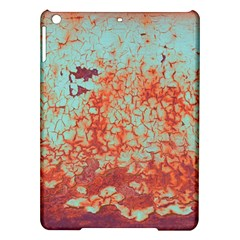 Orange Blue Rust Colorful Texture Ipad Air Hardshell Cases by Nexatart