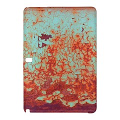 Orange Blue Rust Colorful Texture Samsung Galaxy Tab Pro 12 2 Hardshell Case by Nexatart