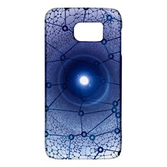 Network Social Abstract Samsung Galaxy S6 Hardshell Case