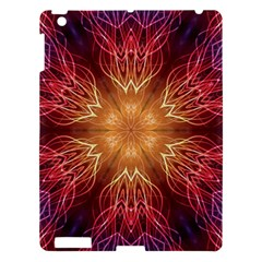 Fractal Abstract Artistic Apple Ipad 3/4 Hardshell Case by Nexatart