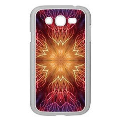 Fractal Abstract Artistic Samsung Galaxy Grand Duos I9082 Case (white) by Nexatart