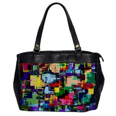 Color Abstract Background Textures Office Handbags by Nexatart