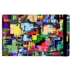 Color Abstract Background Textures Apple Ipad Pro 9 7   Flip Case by Nexatart