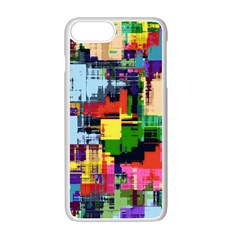 Color Abstract Background Textures Apple Iphone 7 Plus Seamless Case (white) by Nexatart