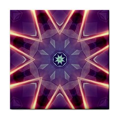 Abstract Glow Kaleidoscopic Light Face Towel