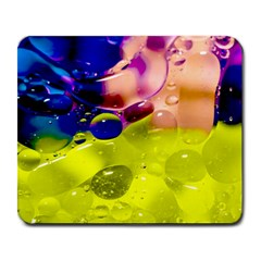 Abstract Bubbles Oil Large Mousepads by Nexatart