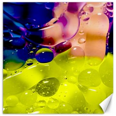 Abstract Bubbles Oil Canvas 12  X 12