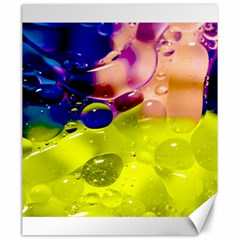 Abstract Bubbles Oil Canvas 20  X 24   by Nexatart