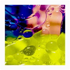 Abstract Bubbles Oil Medium Glasses Cloth (2 Side) by Nexatart