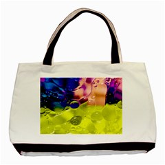 Abstract Bubbles Oil Basic Tote Bag (two Sides)
