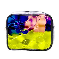 Abstract Bubbles Oil Mini Toiletries Bags by Nexatart