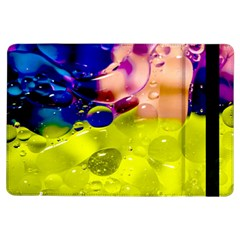 Abstract Bubbles Oil Ipad Air Flip by Nexatart