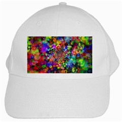 Background Color Pattern Structure White Cap by Nexatart