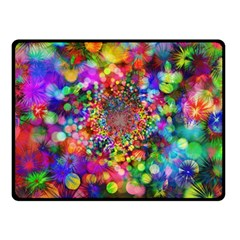 Background Color Pattern Structure Fleece Blanket (small) by Nexatart