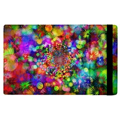 Background Color Pattern Structure Apple Ipad Pro 12 9   Flip Case by Nexatart