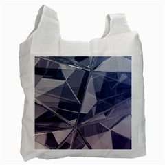 Abstract Background Abstract Minimal Recycle Bag (two Side)