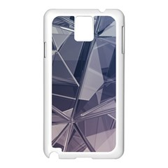 Abstract Background Abstract Minimal Samsung Galaxy Note 3 N9005 Case (white) by Nexatart
