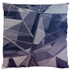 Abstract Background Abstract Minimal Standard Flano Cushion Case (one Side) by Nexatart
