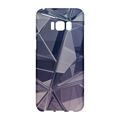 Abstract Background Abstract Minimal Samsung Galaxy S8 Hardshell Case