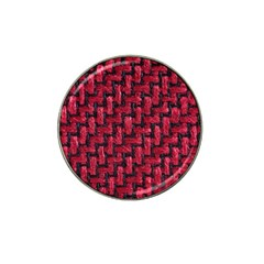 Fabric Pattern Desktop Textile Hat Clip Ball Marker (4 Pack) by Nexatart