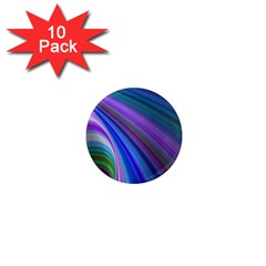 Background Abstract Curves 1  Mini Magnet (10 Pack)