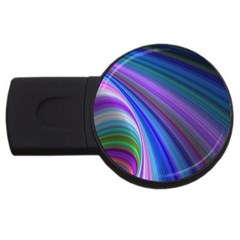Background Abstract Curves Usb Flash Drive Round (4 Gb)