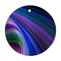 Background Abstract Curves Round Ornament (two Sides) by Nexatart