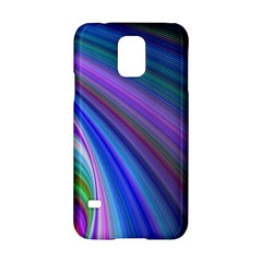 Background Abstract Curves Samsung Galaxy S5 Hardshell Case  by Nexatart