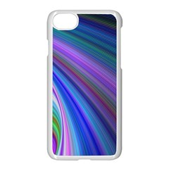 Background Abstract Curves Apple Iphone 7 Seamless Case (white)