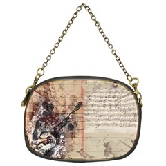 Art Collage Design Colorful Color Chain Purses (two Sides)