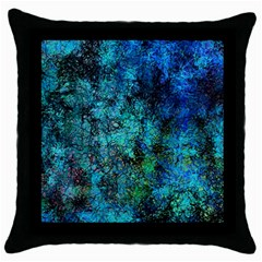 Color Abstract Background Textures Throw Pillow Case (black) by Nexatart