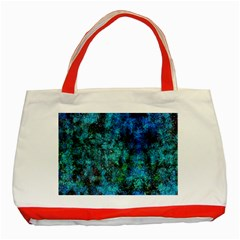 Color Abstract Background Textures Classic Tote Bag (red)