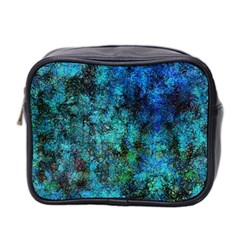 Color Abstract Background Textures Mini Toiletries Bag 2 Side