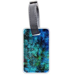 Color Abstract Background Textures Luggage Tags (one Side)  by Nexatart
