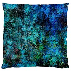 Color Abstract Background Textures Large Cushion Case (one Side) by Nexatart