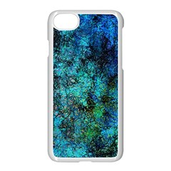 Color Abstract Background Textures Apple Iphone 8 Seamless Case (white) by Nexatart