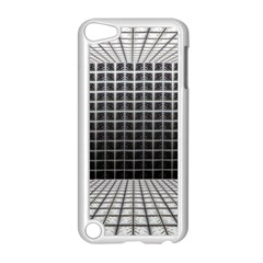 Space Glass Blocks Background Apple Ipod Touch 5 Case (white)