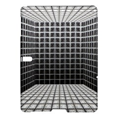 Space Glass Blocks Background Samsung Galaxy Tab S (10 5 ) Hardshell Case  by Nexatart