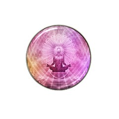 Meditation Spiritual Yoga Hat Clip Ball Marker (4 Pack) by Nexatart