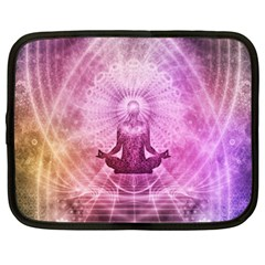 Meditation Spiritual Yoga Netbook Case (xxl)  by Nexatart