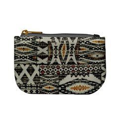 Fabric Textile Abstract Pattern Mini Coin Purses