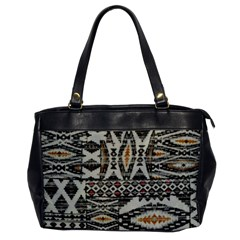 Fabric Textile Abstract Pattern Office Handbags by Nexatart